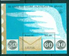 Brazil 1981 Philatelic Club Of Brazil MS MUH Lot47080 - Unclassified