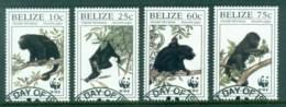 Belize 1997 WWF Howler Monkeys FU - Belize (1973-...)