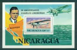 Nicaragua 1977 Lindberg MS MUH Lot43188 - Nicaragua