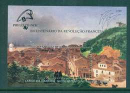 Brazil 1989 PHILEXFRANCE Stamp Ex. MS MUH Lot47049 - Unclassified