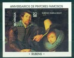 Nicaragua 1978 Paintings Rubens MS MUH Lot43194 - Nicaragua