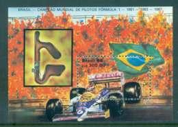 Brazil 1988 Brazilian Foumula 1 Champions MS MUH Lot47058 - Brazil