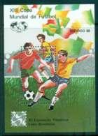 Brazil 1986 LUBRAPEX Stamp Ex. Soccer MS MUH Lot47087 - Brazil