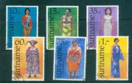 Surinam 1977 Womens Costumes FU Lot47208 - Surinam