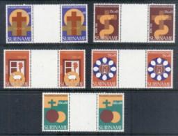 Surinam 1978 Welfare, Easter Prs MUH - Surinam