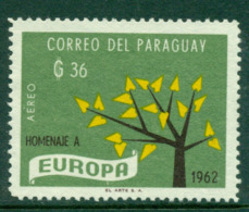 Paraguay 1962 36g Europa MNG Lot17667 - Paraguay