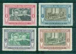 Ecuador 1952 Pres. Galo Plaza & Harry Truman MLH Lot46687 - Ecuador