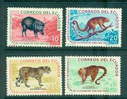 Ecuador 1961 Animals MLH Lot46723 - Equateur