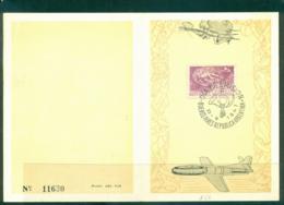 Argentina 1947 Aviation Week FDI On Card FU Lot37173 - Argentina