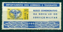 Brazil 1966 Military Service Law MS MLH Lot36490 - Brazil