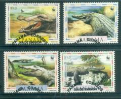 Panama 1997 WWF American Crocodile FU Lot81573 - Panama