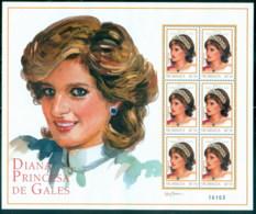 Nicaragua 1999 Princess Diana In Memoriam, Sweet & Sassy MS MUH - Nicaragua