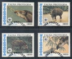 Nicaragua 1985 WWF Central American Tapir FU - Nicaragua
