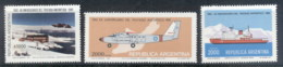 Argentina 1981 Antarctic Treaty, Ship, Plane MUH - Argentina