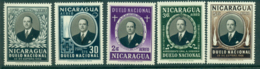 Nicaragua 1957 Pres. Somoza MUH Lot35931 - Nicaragua