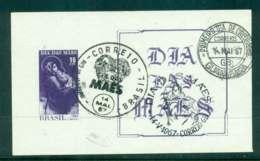 Brazil 1967 Mothers Day MS FU Lot47064 - Brazil