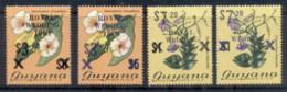 Guyana 1981 Royal Wedding Charles & Diana Blue & Black Opts FU - Guyana (1966-...)