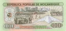 MOZAMBIQUE P. 130a 100 M 1983 UNC - Mozambique