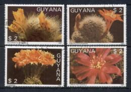 Guyana 1988 Cactus Flowers CTO - Guyana (1966-...)