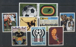 Paraguay 1974 World Cup Soccer Munich MUH - Paraguay