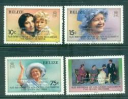 Belize 1985 Queen Mother Opt Summit MLH Lot80875 - Belize (1973-...)