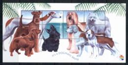 Guyana 2001 Dogs, It's A Dogmatic World Sheetlet MUH - Guyana (1966-...)