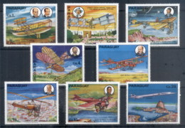 Paraguay 1977 Aviation History MUH - Paraguay