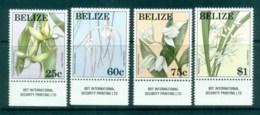 Belize 1994 Xmas, Orchids MUH Lot81068 - Belize (1973-...)