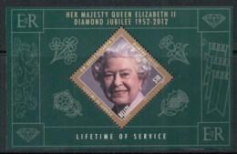Belize 2012 QEII Diamond Jubilee MS MUH - Belize (1973-...)