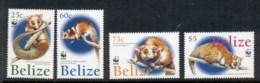 Belize 2004 WWF American Wooly Opossum MUH - Belize (1973-...)