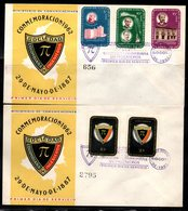 COLOMBIA- KOLUMBIEN - 1962.FDC/SPD.  VI NATIONAL CONGRESS OF ENGINEERS. SET X 2 COVERS - Colombia