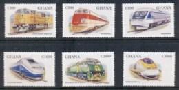 Guyana 1998 Trains MUH - Guyana (1966-...)