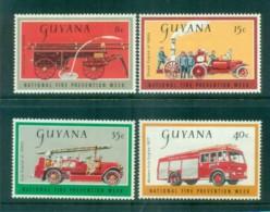 Guyana 1977 Fire Prevention Week MLH Lot79374 - Guiana (1966-...)
