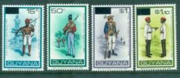Guyana 1983 Uniforms + Opts MUH Lot80927 - Guyana (1966-...)