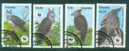 Guyana 1990 WWF Harpy Eagle FU Lot81605 - Guyana (1966-...)