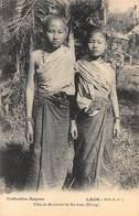 CPA LAOS - Filles De Mandarins Du Bas-Laos ( Khong ) - Laos