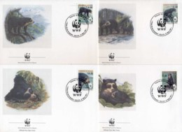 Bolivia 1991 WWF Spectacled Bear FDC - Bolivia