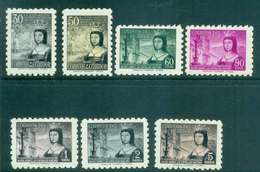 Ecuador 1954 Queen Isabella I MLh Lot46730 - Ecuador