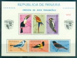 Panama 1965 Birds MS MUH - Panama