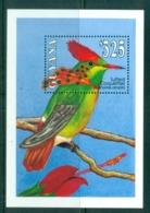 Guyana 1993 Birds, Tufted Coquettes MS MUH - Guyane (1966-...)