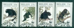 Belize 1997 WWF Black Howler Monkey FU Lot81571 - Belize (1973-...)