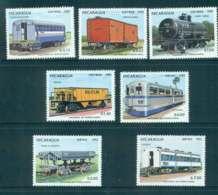 Nicaragua 1983 Trains MUH Lot51975 - Nicaragua