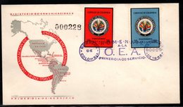 COLOMBIA- KOLUMBIEN - 1962.FDC/SPD.  ORGANIZATION OF AMERICAN STATES, 70TH ANNIVERSARY - Colombia