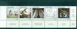 Venezuela 1988 Venalum Aluminium Corp. Str 5 MUH Lot47036 - Venezuela