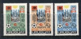 Uruguay 1974 Soccer Olympics & UPU MUH - Uruguay