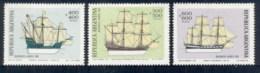Argentina 1979 Sailing Ships (3/4, No 1500p) MLH - Argentina