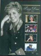 Guyana 2007 Princess Diana In Memoriam, 10th Anniv, The People's Princess MS MUH - Guyana (1966-...)