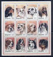 Guyana 1995, Dogs, Singapore '95 Stamp Ex MS MUH - Guyana (1966-...)