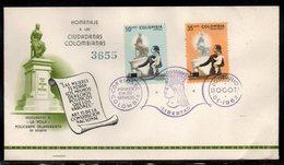 COLOMBIA- KOLUMBIEN - 1962.FDC/SPD.  WOMEN'S POLITICAL RIGHTS IN COLOMBIA - Colombia