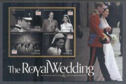 Guyana 2011 Royal Wedding William & Kate #1116 $275 MS MUH - Guyane (1966-...)